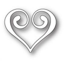 Memory Box Stanzschablone - Clip Heart