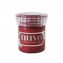 Nuvo Glimmer Paste - Garnet Red