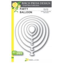 Birch Press Stanzschablone - Party Balloon