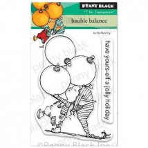 Penny Black Clear Stamps - Bauble Balance