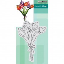 Penny Black Cling Stamps - Tulip Bouquet