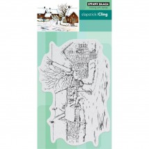 Penny Black Cling Stamps - Tranquil Hamlet