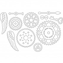 Penny Black Creative Dies Stanzschablone - Cogwheels