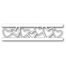Poppy Stamps Stanzschablone - Happy Hearts Channel