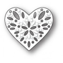 Poppy Stamps Stanzschablone - Capri Heart