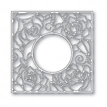 Poppy Stamps Stanzschablone - Rose Frame