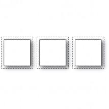 Poppy Stamps Stanzschablone - Triple Stitch Window
