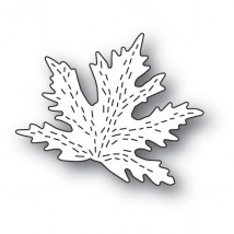 Poppy Stamps Stanzschablone - Whittle Maple Leaf