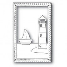 Poppy Stamps Stanzschablone - Lighthouse Frame