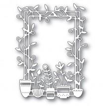 Poppy Stamps Stanzschablone - Spring Pots Frame