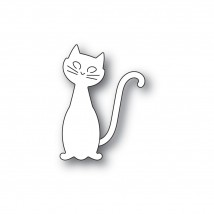 Poppy Stamps Stanzschablone - Friendly Cat