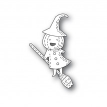 Poppy Stamps Stanzschablone - Whittle Pumpkin Witch
