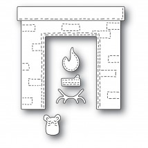Poppy Stamps Stanzschablone - Whittle Fireplace