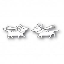 Poppy Stamps Stanzschablone - Whittle Corgis