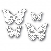 Poppy Stamps Stanzschablone - Intricate Cut Butterflies