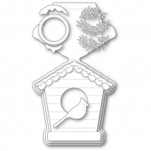 Poppy Stamps Stanzschablone - Bird House Pop Up Easel Set