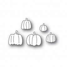 Poppy Stamps Stanzschablone - Pile of Pumpkins