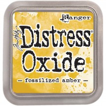 Ranger Distress Oxide Stempelkissen - Fossilized Amber