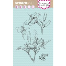 Studio Light Clear Stamps - Lilie