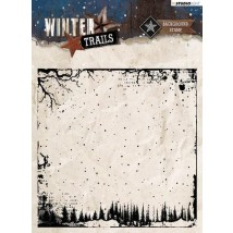 Studio Light Clear Stamps 14x14 - Winter Trails Nr. 304