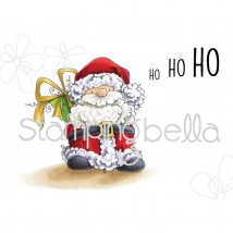 Stamping Bella Cling Stamps - Santa Has A Prezzie