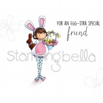 Stamping Bella Cling Stamps - Tiny Townie Ella Loves Easter