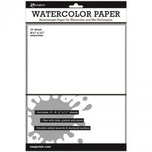 Ranger Surfaces Watercolor Paper - Aquarellpapier 10 Blatt