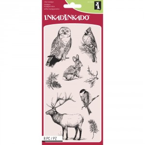 Inkadinkado Clear Stamps - Winter Wildlife