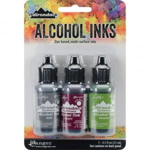 Adirondack Alcohol Inks - 3er Set Cottage Path