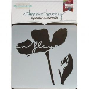 Donna Downey Stencil - En Fleur