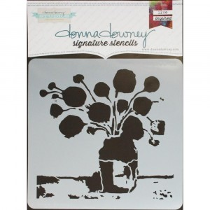 Donna Downey Stencil - Flowers in Vase