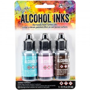 Adirondack Alcohol Inks - 3er Set Retro Cafe