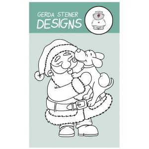 Gerda Steiner Designs Clear Stamps - Puppy Kisses for Santa
