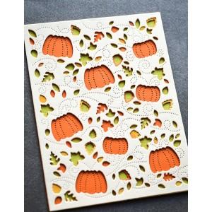 Birch Press Stanzschablone - Autumn Breeze Plate Layer Set