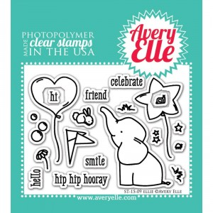 Avery Elle Clear Stamps - Ellie