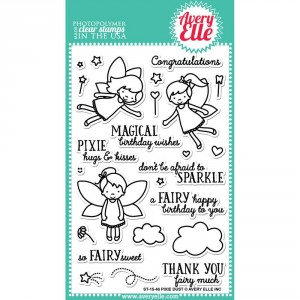 Avery Elle Clear Stamps - Pixie Dust