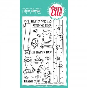 Avery Elle Clear Stamps - Woodland Wonders