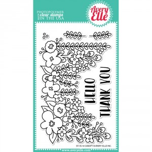 Avery Elle Clear Stamps - Canopy