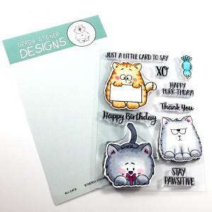 Gerda Steiner Design Clear Stamps - All Cats