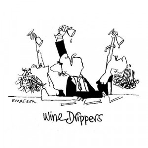 American Art Stamp - Wine Drippers