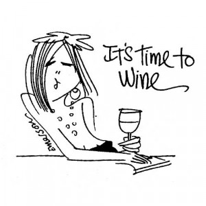 American Art Stamp - Time to Wine