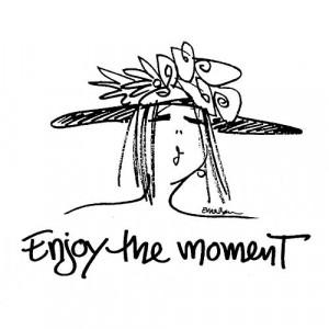 American Art Stamp - Enjoy the Moment