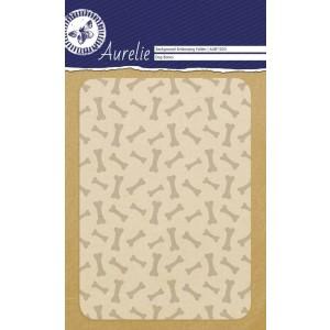 Aurelie Hintergrund-Prägeschablone - Dog Bones