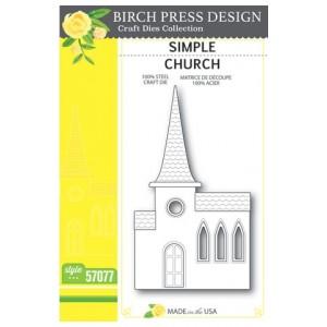 Birch Press Stanzschablone - Simple Church