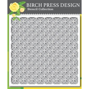 Birch Press Template - Ring Tile Stencil