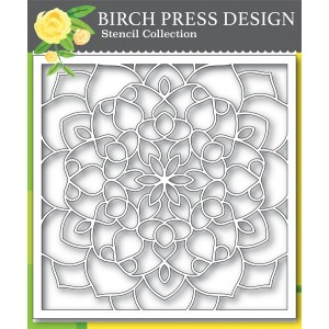 Birch Press Template - Midnight Mandala Stencil