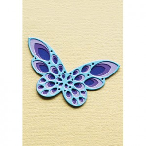 Birch Press Stanzschablonen-Set - Sparkler Butterfly Layer Set