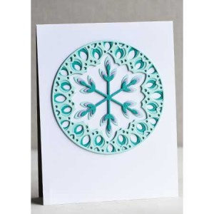 Birch Press Stanzschablone - Issa Snowflake Layer Set