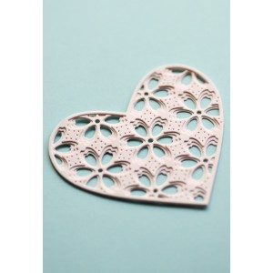 Birch Press Stanzschablone - Flora Heart Layer Set