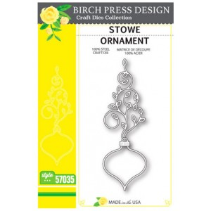 Birch Press Stanzschablone - Stowe Ornament